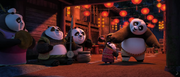 Panda-celebration