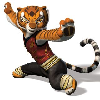 Tigress' red-colored attire first featured in <i><a href=