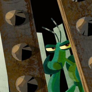 Mantis captured in <i><a href=