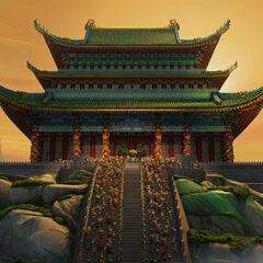 se esncuentra a un cosatado del palacio de jade