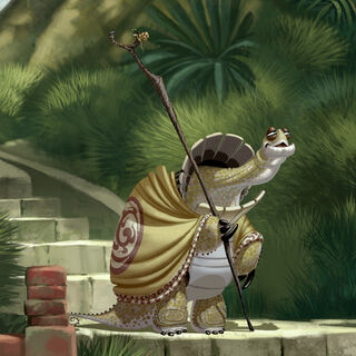 Concept artwork of Oogway by Nicolas Marlet and Raymond Zibach