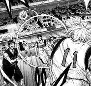 Kuroko sends his final pass