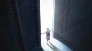 Aomine opens the gate