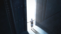 Aomine opens the gate.png