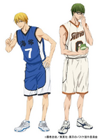 Anime Kise and Midorima