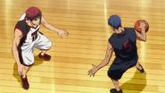 Kagami vs Aomine One on One