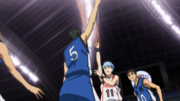 Kuroko scores the first points of the match.png