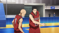 Haizaki hits his teammate