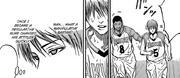 Mayuzumi is annoyed by Nebuya