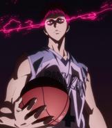 Akashi enters the Zone