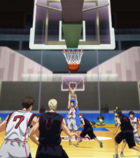 Hyuga scores with Barrier Jumper