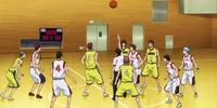 Seirin High vs Josei High