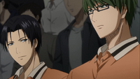 Takao with Midorima (anime)