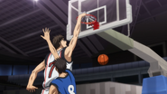 Kiyoshi dunks