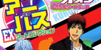 Kuroko no Basuke TV Anime Characters Book Anibus EX