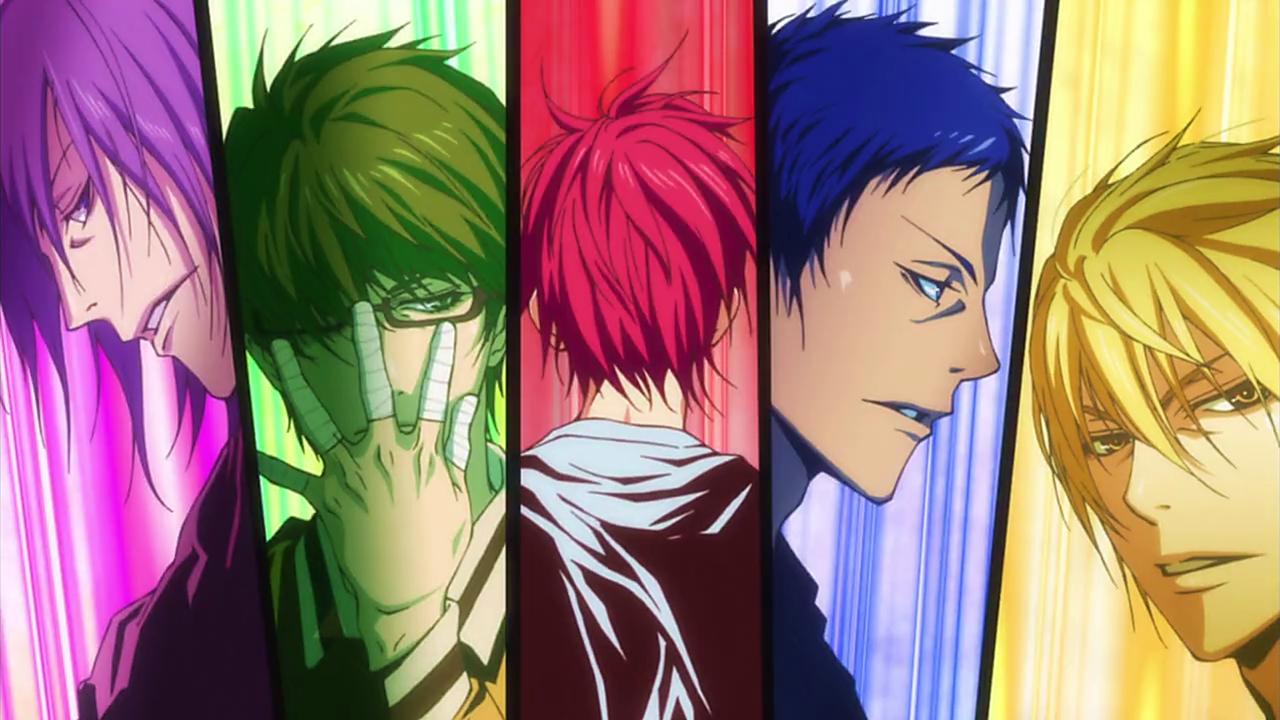 Image - Generation of Miracles in OP Theme.png | Kuroko no ...