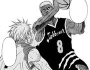 Vorpal Swords realise what Kise is about to do