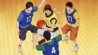 Kagami triple-teamed anime