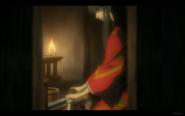 Kuromitsu Sharpens a Blade