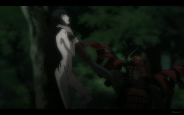 File:Man in Red Armor Picks Up Kuromitsu.png