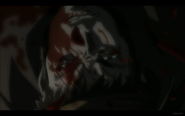 Benkei Covered in Kuro's Blood