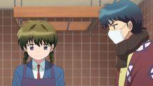 Ep 23 Tsubasa sick