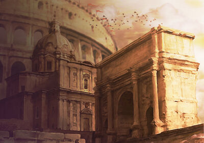 Ancient Rome by DigitallyPainted