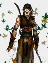 Elf Druid by grandanvil