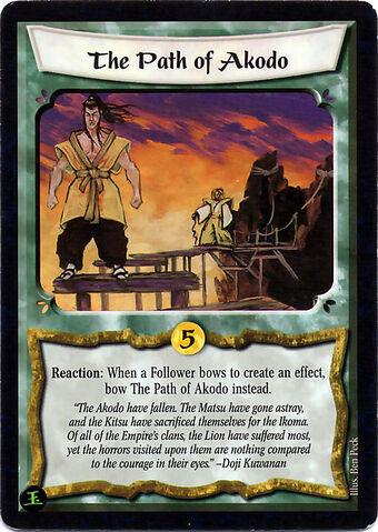 File:The Path of Akodo-card.jpg