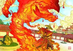 Warning Flame