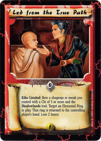 File:Led from the True Path-card.jpg
