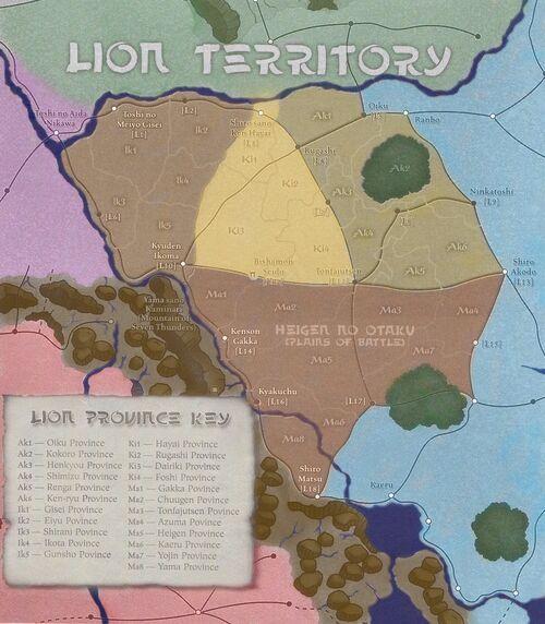 Lion Clan Provinces