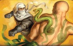 Snake tattoo 2