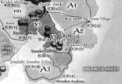 Yasuki provinces