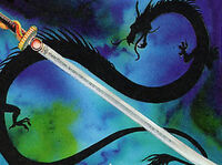 Ancestral Katana of the Dragon