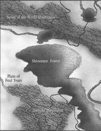 Plains of Foul Tears Map