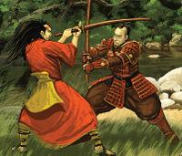 Sawao teaches the Wanderer