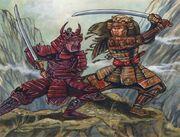 Hataki duels Kuemon