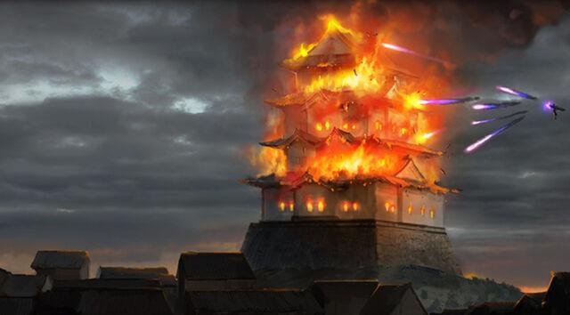 File:Burning of Isawa Palace.jpg