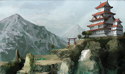 Shrine to Hachiman
