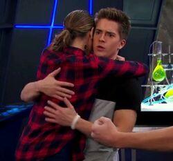 Skylar and Chase (Skase) hug