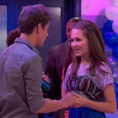 Bree and Ethan dancing