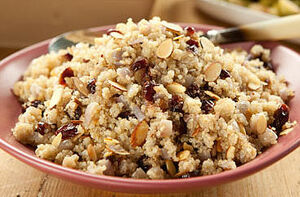 Quinoa Breakfast Pilaf