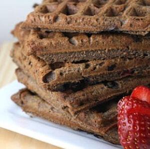 Buckwheat waffles