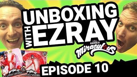 Miraculous Ladybug EZRAY Toy Unboxing Ep. 10 Tales of Ladybug & Cat Noir
