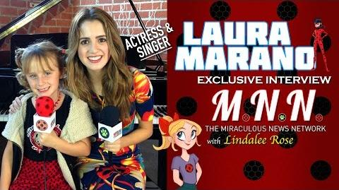 Laura Marano & Lindalee discuss Miraculous Ladybug (MNN Ep