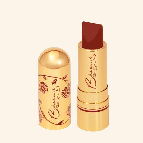 File:Besame Cosmetics - Merlot lipstick.jpg