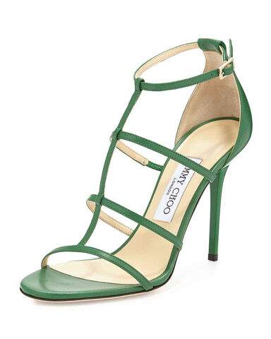 File:Jimmy Choo - Dory Caged leather sandal.jpg