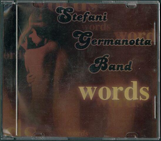 File:Lady Gaga 'Stefani Germanotta Band, Words' Circa 2005 Original CD.jpeg
