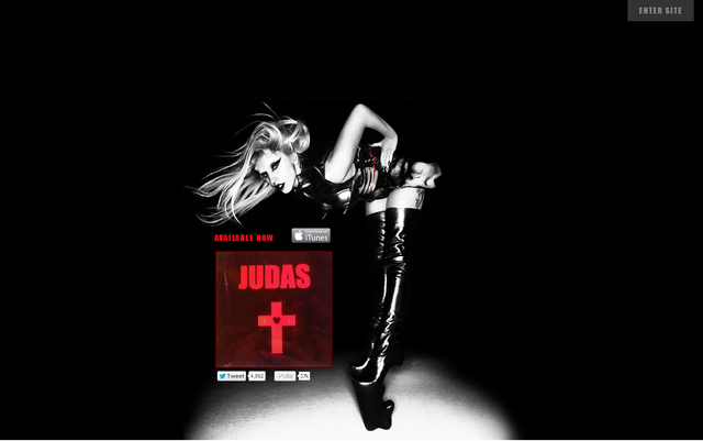 File:Official website - Judas Single.png